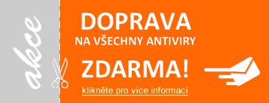 Doprava na antivirov� programy zdarma