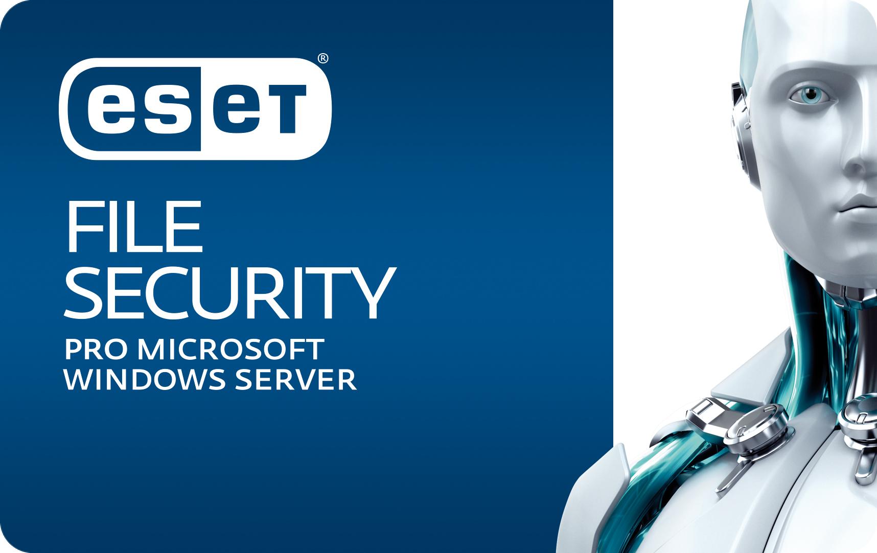 ESET File Security pro Microsoft Windows Server, 3 lic., 3 roky