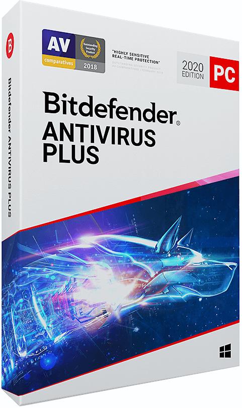 Bitdefender Antivirus Plus 2017, 1 lic., 2 roky