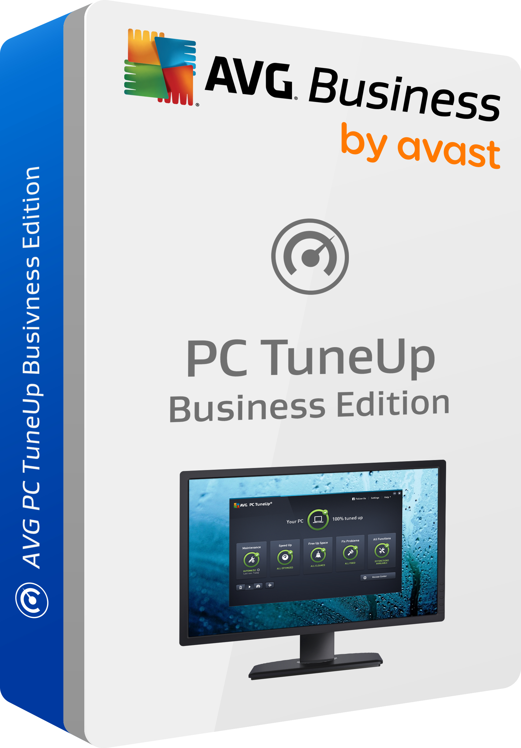 AVG PC TuneUp Business Edition, 30 lic., 2 roky