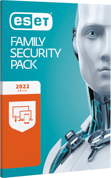 ESET Family Security Pack, 3 lic., 1 rok