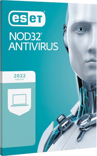 ESET NOD32 Antivirus 14, 2 lic., 3 roky, obnovení