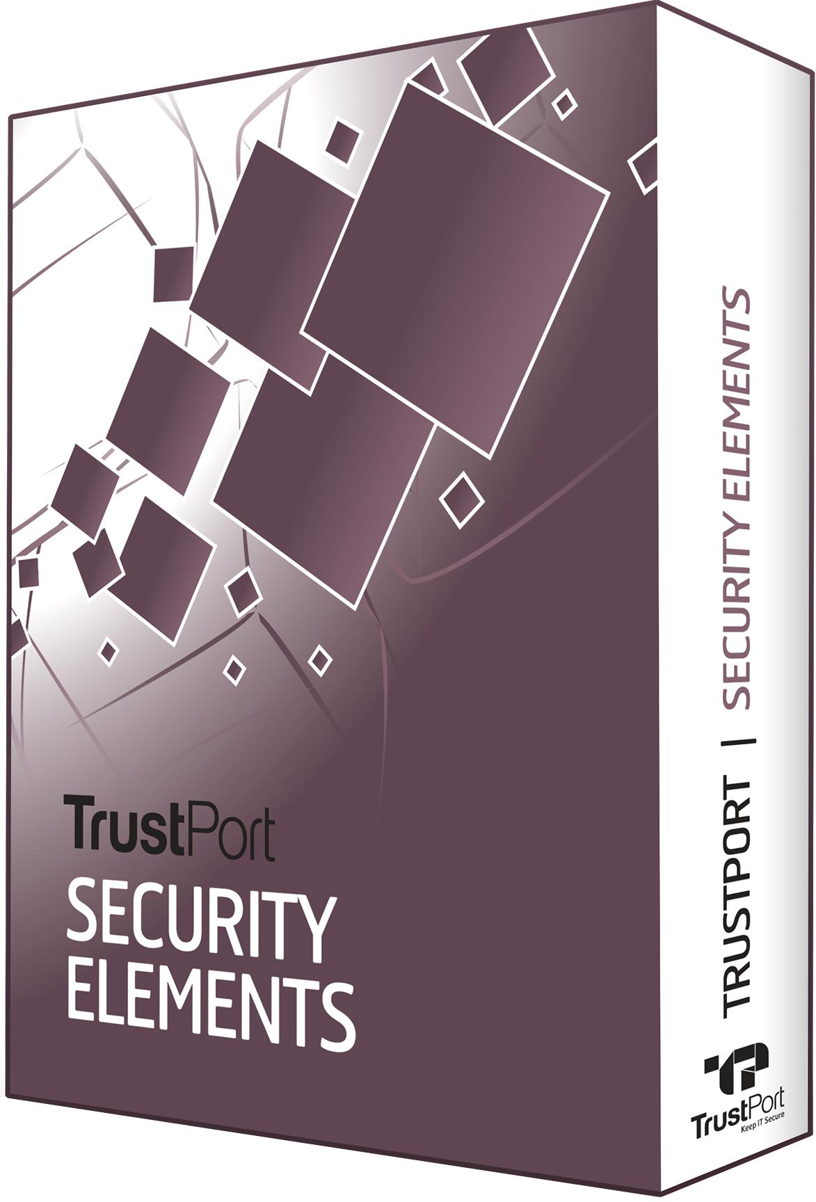 TrustPort Security Elements Ultimate, 10 lic., 1 rok, obnovení