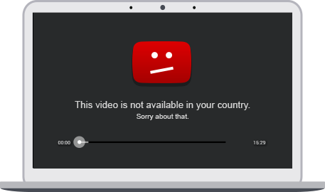 YouTube - toto video ve vaší zemi není dostupné