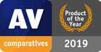 AV Comparatives - Bitdefender - product of the year 2019