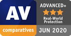 AV Comparatives - Bitdefender - real world protection - 2020
