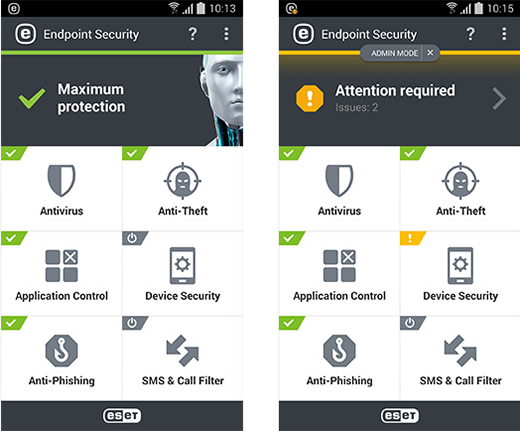 ESET Endpoint Security pro Android