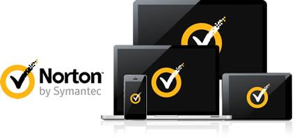 Buďte v klidu díky skálopevné ochraně Norton pro všechna vaše zařízení...
