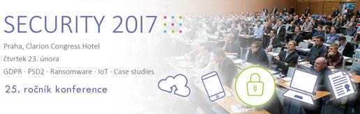 Zveme vás na jubilejní 25. ročník konference SECURITY 2017 ...