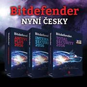 Bitdefender - nyní česky!