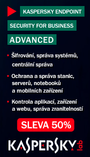 Kaspersky endpoint security for business - sleva 50%