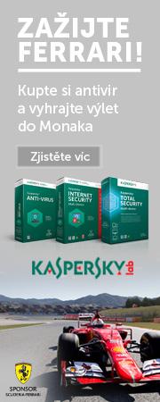 AKCE - kupte antivir Kaspersky a vyhrajte výlet do Monaka!