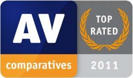 AV-Comparatives TOP5 rated