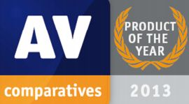AV-Comparatives - produkt roku 2013