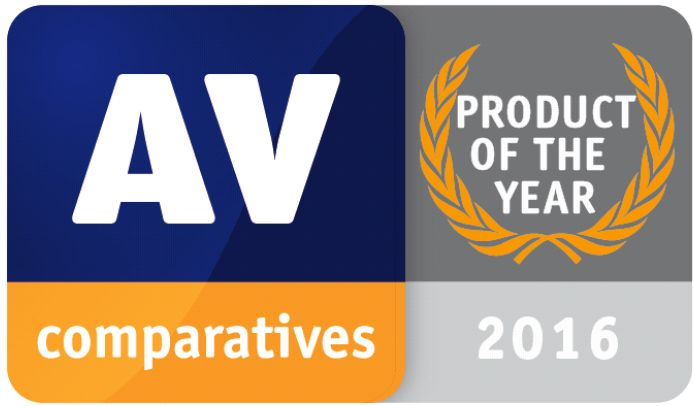 AV-Comparatives - produkt roku 2016