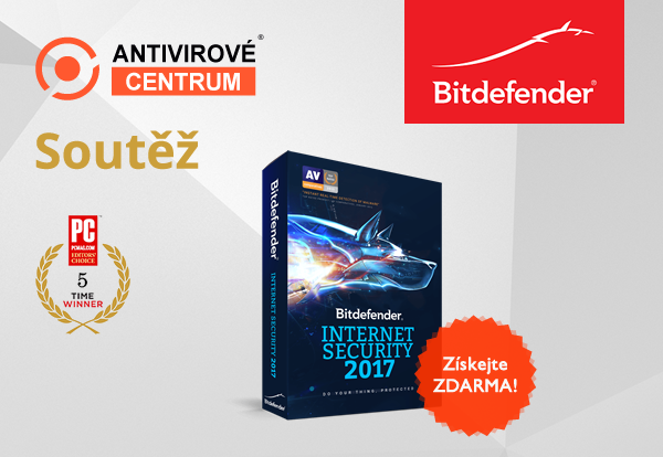 Bitdefender Internet Security 2017 zdarma
