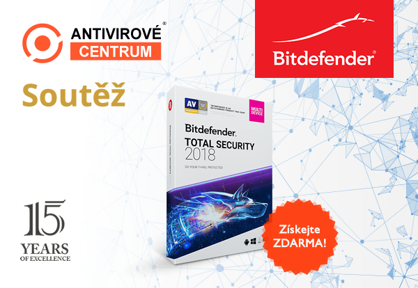 Bitdefender Total Security 2018 zdarma