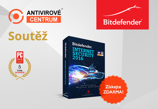 Bitdefender Internet Security 2016 zdarma