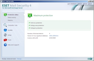 ESET Mail Security for Microsoft Exchange Server RC
