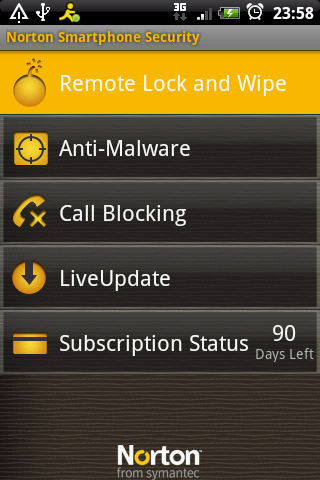 Norton Smartphone Security for Android