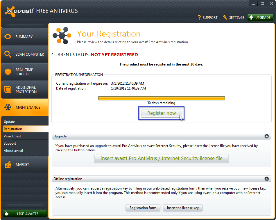avast free antivirus vs internet security